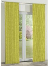 Dekoria Panel 2 sztuki Fleur kwiatki na zielonym tle