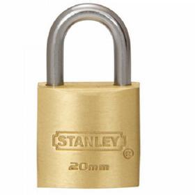 Stanley Kłódka na zewnątrz lity mosiądz S742-028