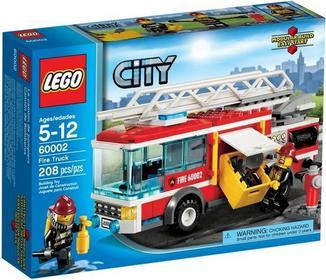 LEGO CITY - Wóz strażacki 60002