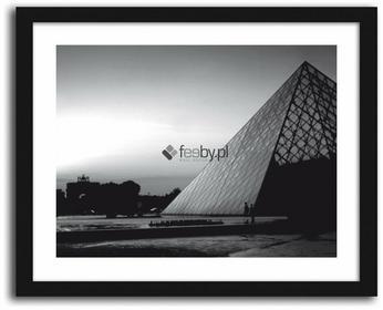 Feeby Piramida Luwru, Obrazy w ramie - Czarny