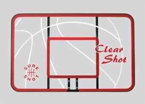 Sure Shot Tablica przezroczysta 117 do koszykówki