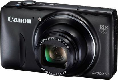 Canon PowerShot SX600 HS czarny