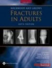 R. Bucholz Rockwood  Greens Fractures in Adults 2 vols