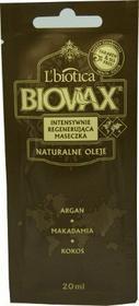 Lbiotica BIOVAX Intensywnie regenerujca Maseczka ARGAN MAKADAMIA KOKOS 200ml