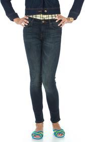 Lee Spodnie Scarlett 526IFRN Niebieski i odcienie niebieskigo