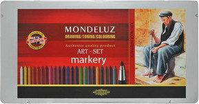 Koh-I-Noor Wkłady Akwarelowe Mondeluz Art 24 kol+3 Ołówek 3796