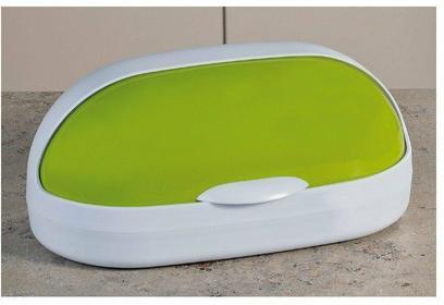 Kesper Chlebak plastikowy Olive 36 x 17 x 18 cm - 18101