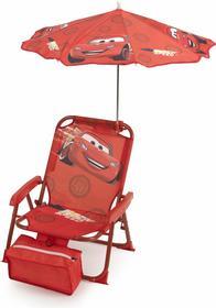 Krzesełko dziecięce z parasolką - Cars; 02920