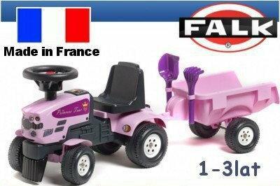 Falk Traktor Princess z przyczepą FA1086C