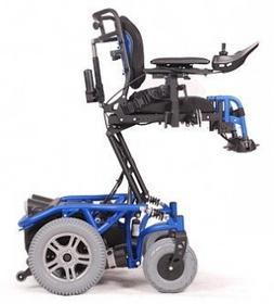 Vermeiren Wózek inwalidzki elektryczny SPRINGER Lift 10km/h