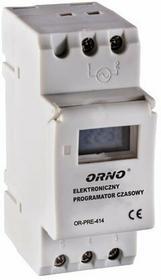 Orno Programator cyfrowy czasowy na szynę  DIN OR PRE 414