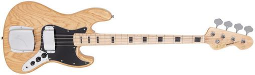 Vintage VJ74NAT - BASS GUITAR, NATURAL ASH BODY