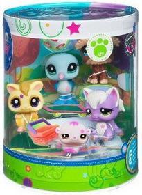 Hasbro Brokatowe zwierzaki Littlest Pet Shop 5 zwierzaków 2269-2273