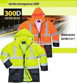 Portwest S768 nowoczesna kurtka ostrzegawcza 5w1, 2 kolory - S-3XL.