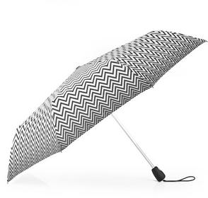 Pierre Cardin Parasol damski składany automatyczny Easymatic - czarno-biały 8220
