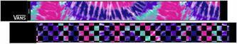 Vans pasekek damski G WITTY WEB BELT (Tie Dye) pin