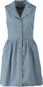 LTB CELINDA Sukienka jeansowa niebieski LT121C018-K11