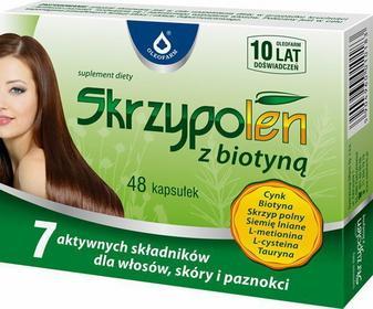 Oleofarm Skrzypolen z biotyną 48 kapsułek