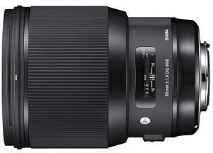 Sigma 85mm f/1.4 ART DG HSM Canon