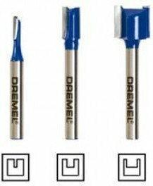 Zestaw prostych frezów do zarysów płaskich DREMELR TRIOT TR673