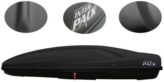 Inter Pack Stella 480 czarny kevlar - BOX dachowy