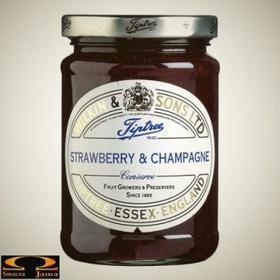 Angielska Konfitura truskawkowa z szampanem Wilkin & Sons 220