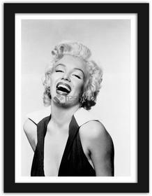 Feeby Marilyn 2, Obrazy w ramie - Czarny