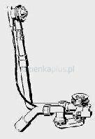 Viega zestaw odpływowo-przelewowy Multiplex wzór 6163.2 308 889 308889