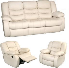 Resto Design Sofa DISS 3F+2x1M fotel RELAX skóra naturalna Sofa DISS 3F+2x1M fotel RELAX skóra naturalna