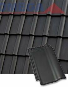 Roben Dachówka podstawowa PIEMONT (antracyt) CERAMIKA BUDOWLANA