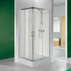 Sanplast Tx 4 90 KN/TX4-90 90x90 profil biały EW szkło W0