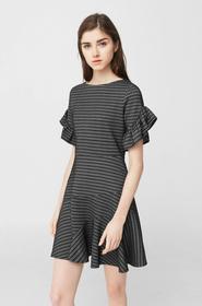 Mango Sukienka Plu 83030294 czarny