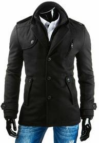 DStreet Płaszcz męski czarny (cx0305)