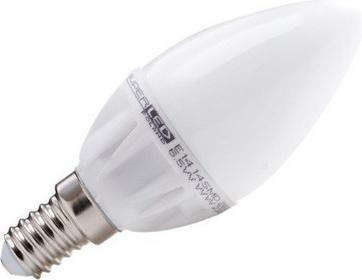 Superled Żarówka LED E14 14 SMD 2835 6W (60W) 550lm 230V barwa ciepła