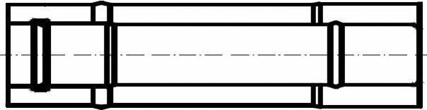 Termet Rura koncentryczna 1,0 m (60/100) (RK201/60)