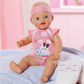 Zapf Creation bobas my little BABY born - Nappy Time 817773BR
