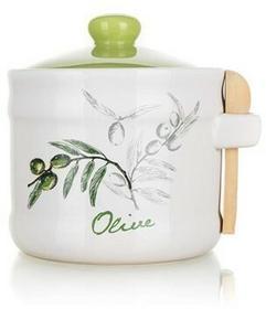 Banquet Pojemnik ceramiczny z łyżeczką Olives
