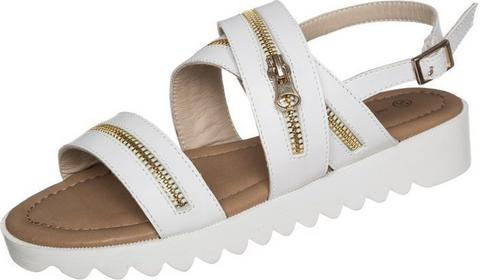 Divine Factory sandały biały HW1030T02B