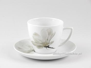 Lubiana filiżanka ze spodkiem Beata/Dorota 0,35l 6474 (Magnolia)