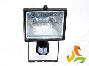 GTV Lampa halogenowa 500W z czujnikiem ruchu OH-500S OH-OH50S0-10/WKP