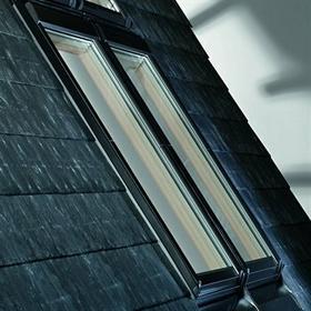 Roto okna Okno dachowe Designo R89P H WD, pakiet niskoemisyjny trzy szybowy R89P