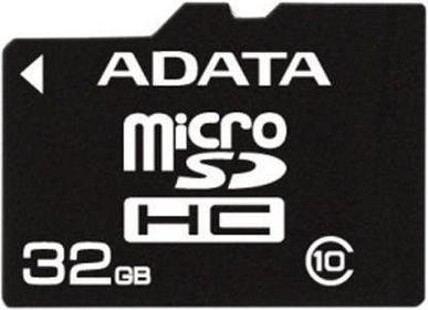 A-Data Micro SD Class 10 + adapter 32GB