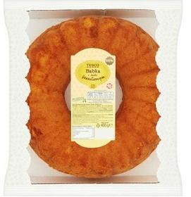 Tesco Babka o smaku waniliowym 400 g