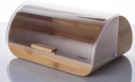 Maestro FEEL / Akcesoria Kuchenne FEEL MAESTRO Chlebak drewniany z plastikową po
