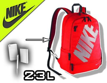 Nike Plecak szkolny Classic czerwony BA4862-608