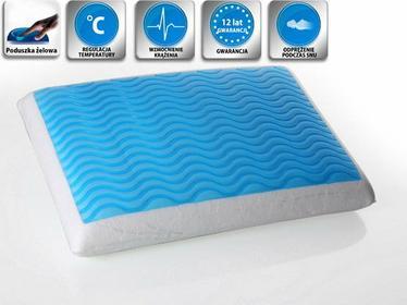 Beliani Zelowa Poduszka Memory Foam 60x40 cm - piankowa poduszka do spania - ort