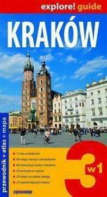 Kraków 3 w 1 - przewodnik + atlas + mapa laminowana - Zapowiedz, wysyłamy od:  2011-08-16 - SKORZYSTAJ Z DOSTAWY GRATIS!