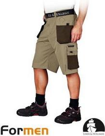 Leber & Hollman spodnie ROBOCZE KRÓTKIE LH-FMN-TS BE3 roz. M LH-FMN-TS BE3 M