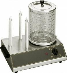 Stalgast Urządzenie do Hot-dogów 0,65 kw, 3 szpikulce Roller grill / 777290