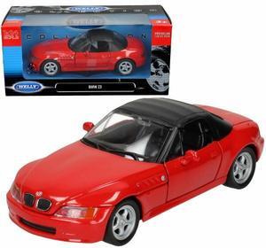 Welly BMW Z3, czerwony WE29379H